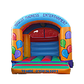 Arched Roof Balloon Castle